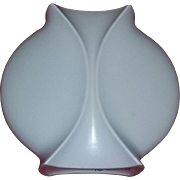 Vintage Scarce Mid Century Modern Modernist Art Pottery Vase Vaart Holland Trinity