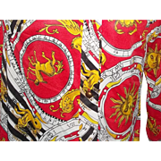True Vintage RARE ZODIAC Mod Womens Pajamas Lingerie Sleepwear 70's Disco