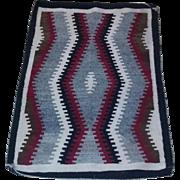 True vintage Navajo Ganado dazzler Rug wall hanging estate 30's 40's