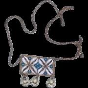True Vintage Trade Bead Shell Necklace estate