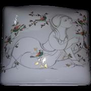 Vintage Mid Century Modern Studio Line China Rosenthal Pillow Vase Woman FAB estate