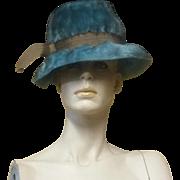 Vintage Schiaparelli Couture Funky Chic 60's Faux Fur Hat