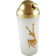 Josephine Baker Vintage Cocktail Shaker – Glass - Gold
