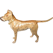 C 1910 Small Vienna Bronze Dog