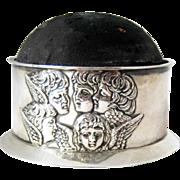 Reynolds Angels Pincushion Sterling Silver – Birmingham 1903