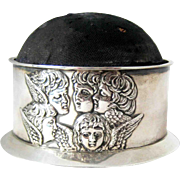 Reynolds Angels Pincushion Sterling Silver – Birmingham 1903