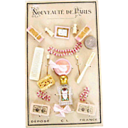 Complete Antique Doll Vanity Set – Scent Bottle