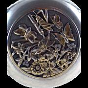 Gorham Aesthetic Grasshopper Butterflies Perfume Scent Bottle – c 1876
