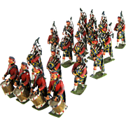 Set 19 Heyde Antique Lead Soldiers - Royal Scots Marching Band