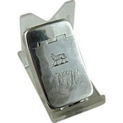 Early English Sterling Silver Match Safe, Vesta – Jos. Willmore  1810