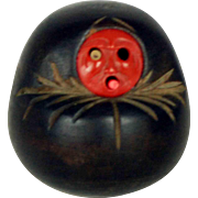 Meiji Japanese Kobe Toy - Daruma – Wood & Bone