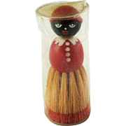 Vintage Black Americana Mammy Brush – Original Packaging