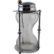 Vintage MAXWELL PHILLIPS Hourglass Cocktail Shaker - c 1930