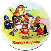 Noddy and Mr. Golly - Huntley and Palmer Tin – c 1970
