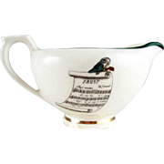 Vintage Creamer French Opera - Faust – PV