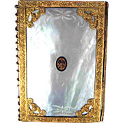 Palais Royale Mother of Pearl Aide Memoire - 19th Century
