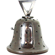 Sterling Silver Bell Figural Pin Cushion Birmingham 1907