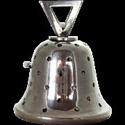Sterling Silver Bell Figural Pin Cushion Birmingham 1907