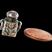 Sterling Silver Miniature Scent Perfume Bottle- Birmingham 1902