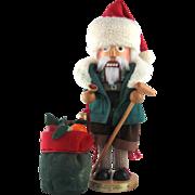 """Vintage Steinbach Nutcracker – Bavarian Santa 19"""""""