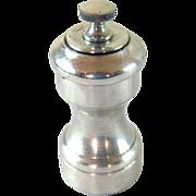 Sterling Silver Pepper Grinder Mill -  American c. 1950