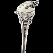 Vintage Silver Laguna Beach, Ca - Artist Palette Souvenir Spoon