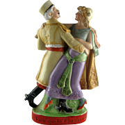 German Schafer and Vater Liquor Flask – Dancers – Let us go to Maxims
