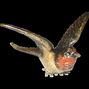 Small Antique Vienna Bronze Bird – c 1910 - Geschutz