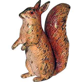 Small Vienna Bronze Squirrel Nutkin – Beatrix Potter – c 1910