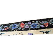 Antique Wallpaper Floral Border Factory Roll >100 Yards