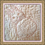 Baby Nursery Gl Eye Peter Rabbit Bunny Blanket Quilt