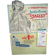 Alex Kins Ginny Ginger Muffie Doll Lustre Cream Store Premium Display