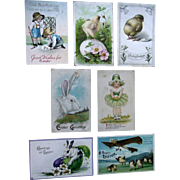 Antique Easter Holiday Postcard Lot