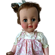 Mint 1960s Ideal Tiny Kissy Baby Doll totally original rosy cheeks with bottle
