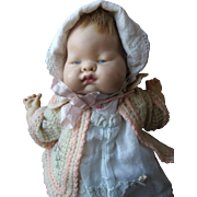 """1960s Vogue Baby Dear 12"""" Once Musical Doll"""