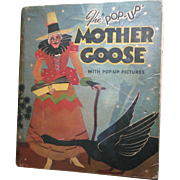 "1933 ""Pop-Up"" Mother Goose Book by Harold B. Lentz"