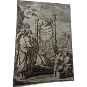 Antique 16C Old Master Print