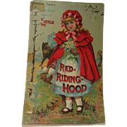 Antique Red Riding Hood Father Tuck Children's Book Dolly Dear Series 19C