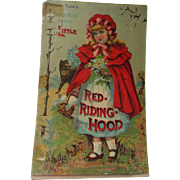 Antique 1895 Parker Brothers Red Riding Hood Board Game