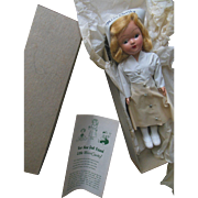 1952 Miss Curity Nurse Doll in Original Box with Pamphlet