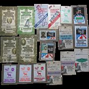 Political Democratic Republican National Convention ABC News Press Reagan NYC Madison Square Garden (18) Pass