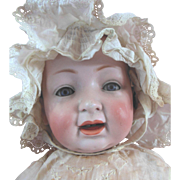 "24"" Antique Kestner Character Baby Huge Life Size Baby Doll"