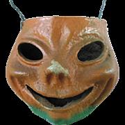 Vintage Halloween Pumpkin Papier Mache