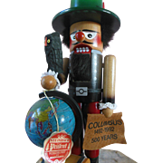 German Steinbach Columbus Nutcracker Vintage 1990s Retired