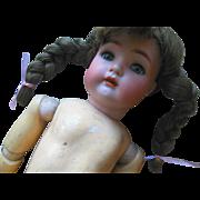 Antique K Star R Simon Halbig German Bisque Doll for parts repair