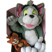 Vintage Tom and Jerry The Movie Plush Mattel Mint in Box Never Removed From Box 1993