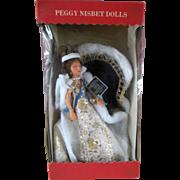 Vintage Peggy Nisbet H.M. Queen Elizabeth 11 State Robes Celebrity Doll Figures Mint in Box