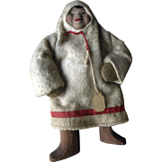 Old Vintage Russian Cloth Doll