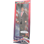 "Vintage 12"" George W Bush Talking President Celebrity DOLL NRFB Mint in Box"