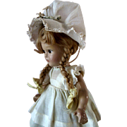 "9"" Alexander McGuffey Ana Composition Doll in original Organdy Outfit 1930s"
